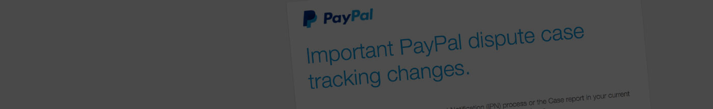Zen Cart PayPal Dispute Tracking Update