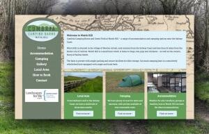 Cumbria Camping Barns Website