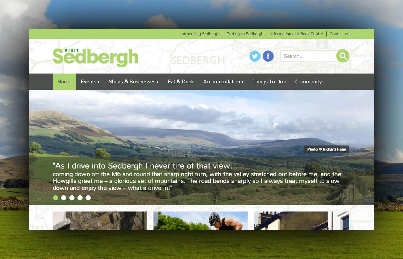 Sedbergh WordPress Website