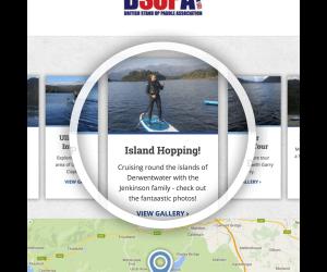 Ullswster Paddleboarding Spotlight