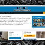 Croft Precision Website